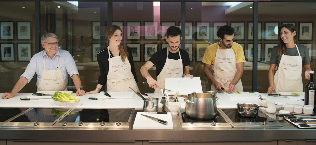 The Alain Ducasse Cooking School In Paris